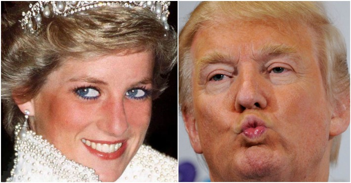 President Trump Believes That He Could Have 'Nailed' Princess Diana