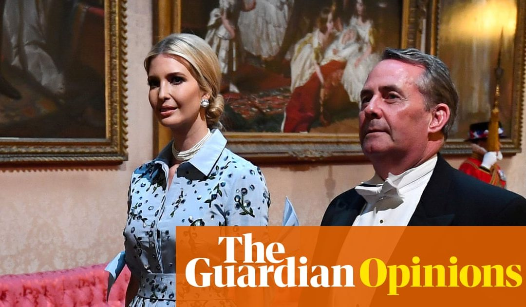 Sorry, but why is Liam Fox apologising to Ivanka Trump? | Arwa Mahdawi